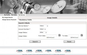 BSNL's Latest Portal