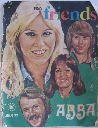 Friends July 77 Cover